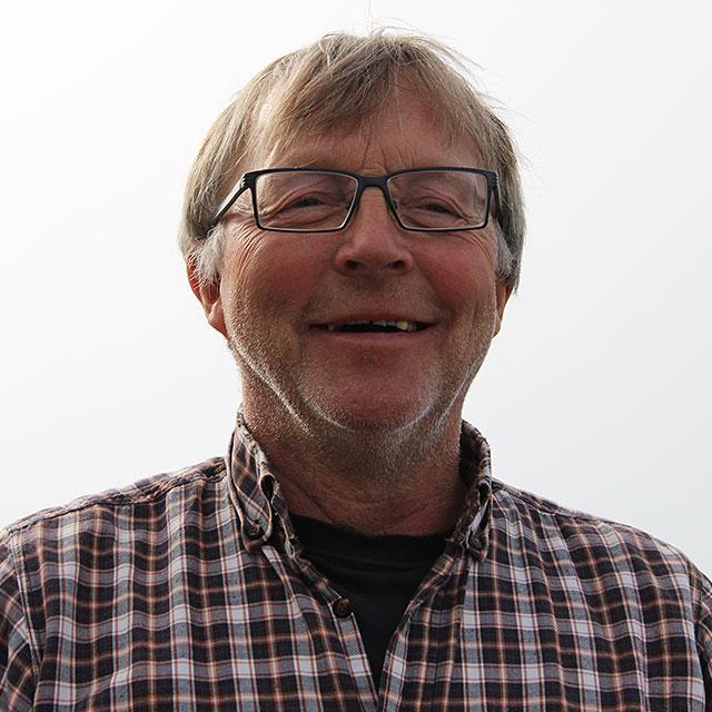 The fisherman Yngve Pedersen